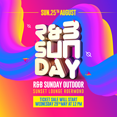 flyer R&B Sunday Outdoor