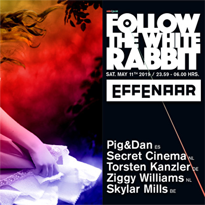 flyer Follow The White Rabbit