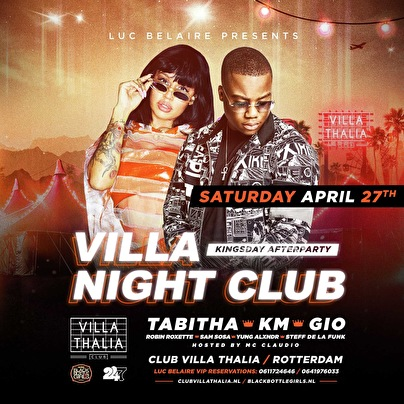 flyer Villa Night Club