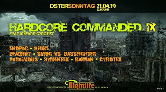 flyer Hardcore Commanded