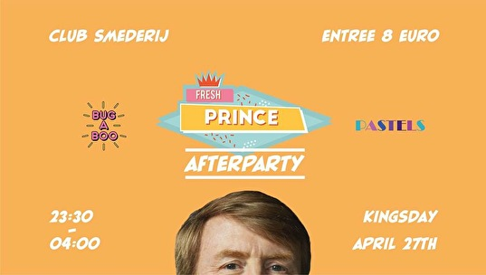flyer Fresh Prince Afterparty