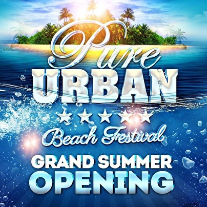 flyer Pure Urban Beach Festival