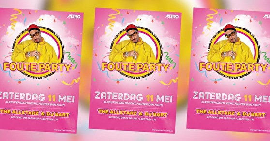 flyer Foute Party