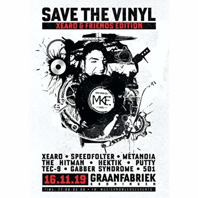 flyer Save the vinyl