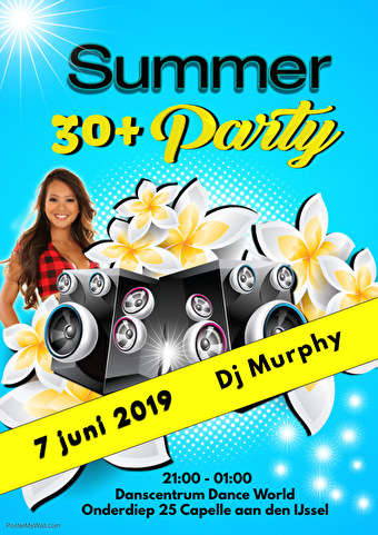 flyer 30+ Summer Dance Party