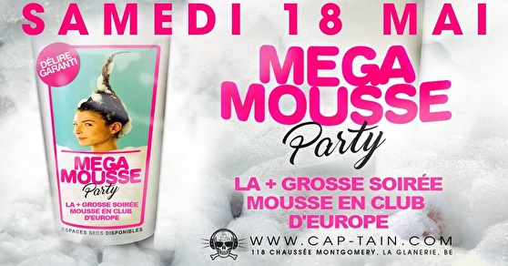 flyer Mega Mousse Party