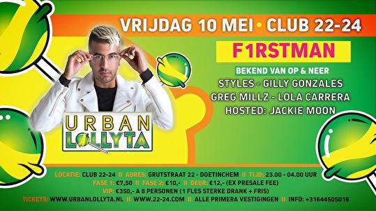 flyer Urban Lollyta
