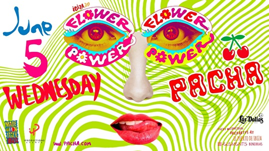 flyer Flower Power