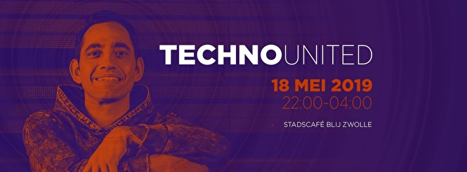 flyer Techno United