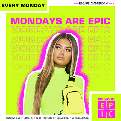 flyer Mondays Are Epic
