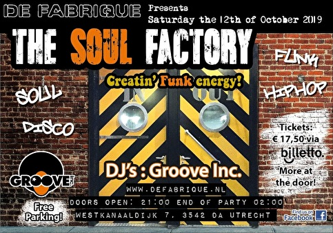flyer The Soul Factory