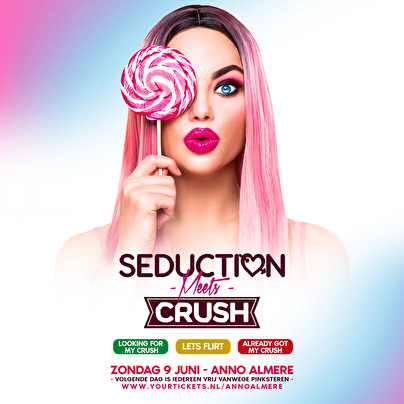 flyer Seduction Meets Crush