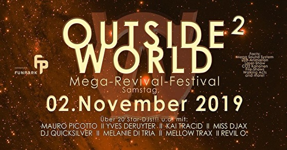 Outside World - Tickets, line-up, timetable & info