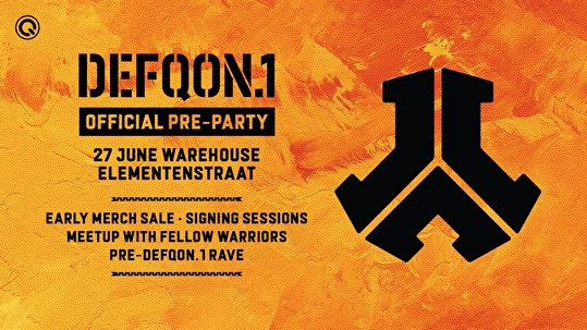 Defqon 1 Pre-Party 2019 - Tickets, line-up & info