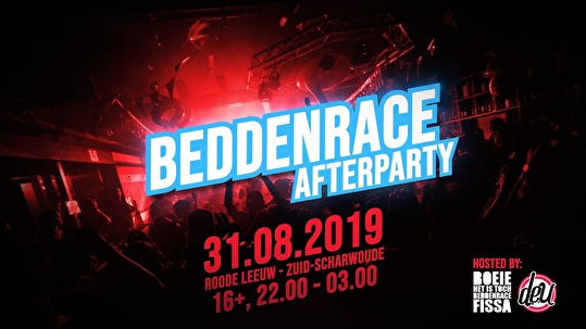 flyer Beddenrace Afterparty