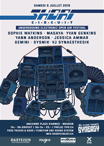 flyer Short Circuit Open Air Festival