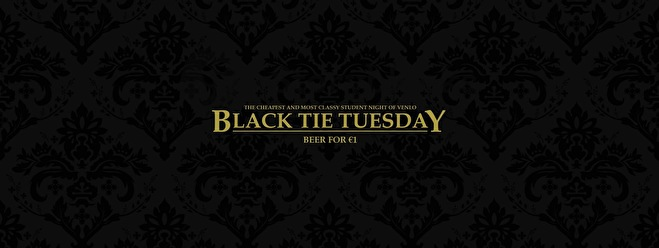 flyer Black Tie Tuesday