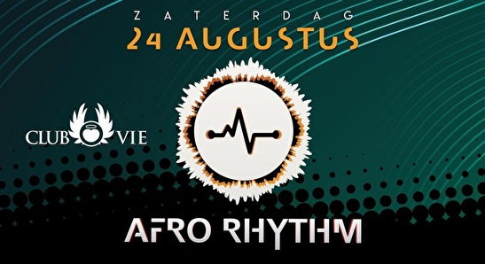 flyer AfroRhythm