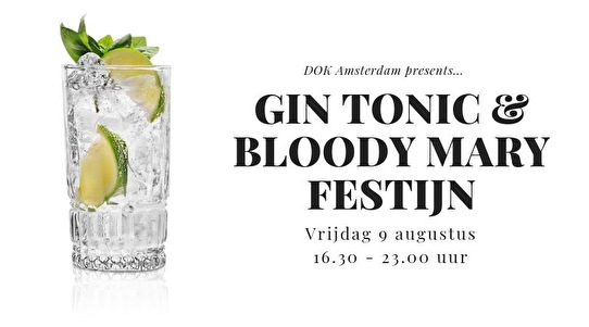 flyer Gin Tonic & Bloody Mary Festijn