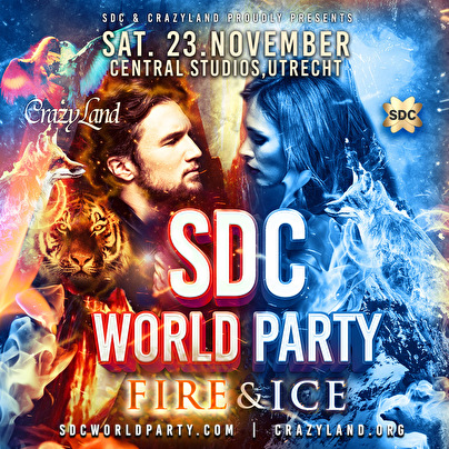 flyer SDC World Party