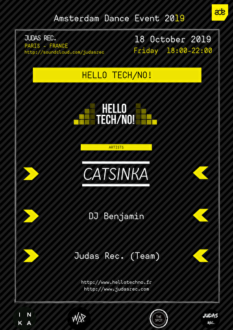 flyer Hello Tech/No