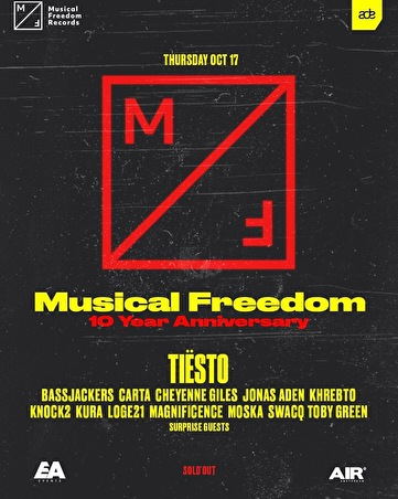 flyer Musical Freedom