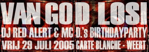 Van God Los (flyer)