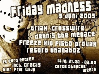 Friday Madness (flyer)