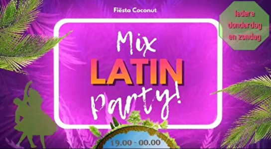 flyer Mix Latin Party