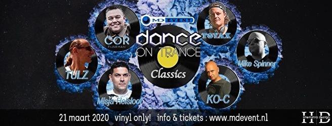 flyer Dance On Trance