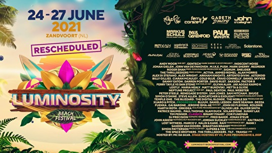 flyer Luminosity Beach Festival