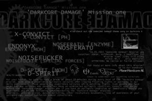 Darkcore Damage (flyer)