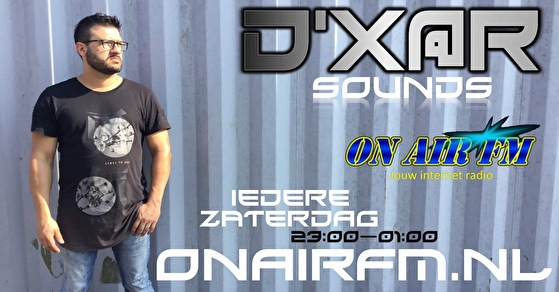 flyer D'XAR Sounds