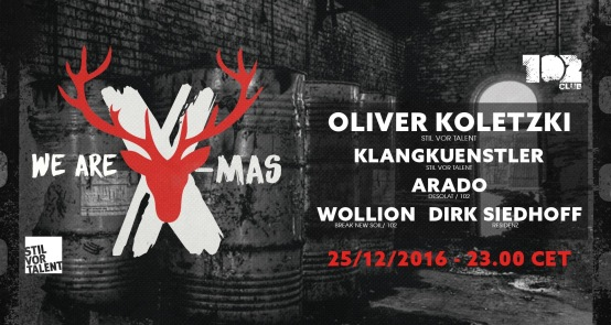 flyer We are X-mas