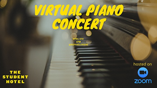 flyer Virtual Piano Concert