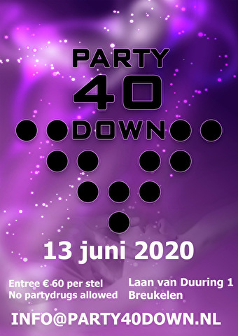 flyer Party40down