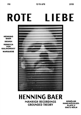 flyer Rote Liebe