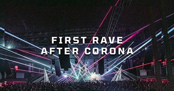flyer First Rave After Corona