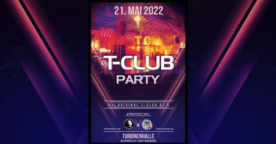 flyer T-Club Party