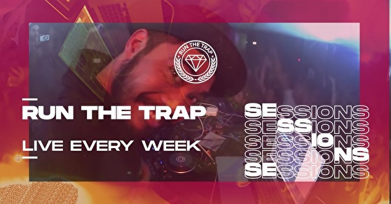 flyer Run The Trap Sessions
