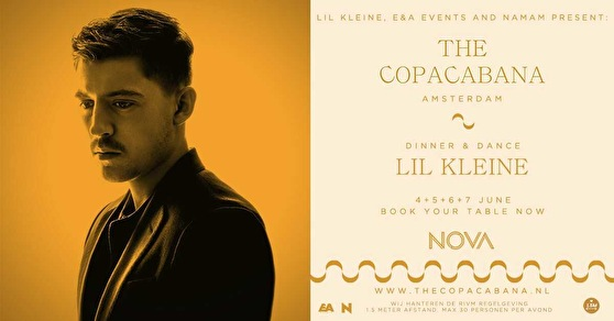 flyer The Copacabana