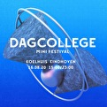 flyer Dagcollege mini-festival