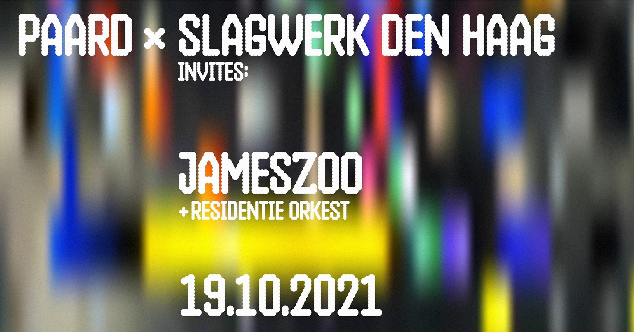 Slagwerk Den Haag invites Jameszoo