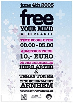 Free your mind Electro After (flyer)