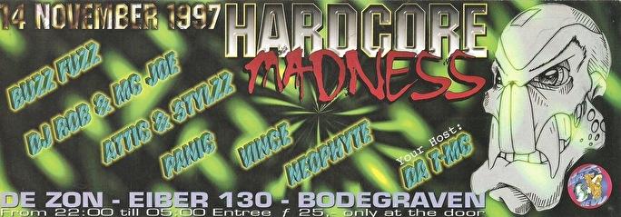 Hardcore Madness (flyer)