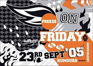 Freeze On Friday (flyer)