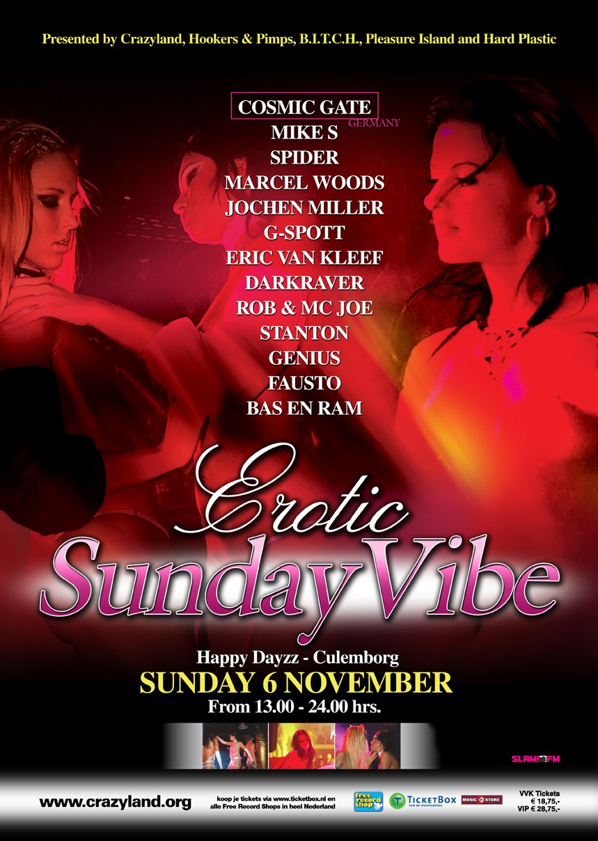 Erotic Sunday vibe (flyer)