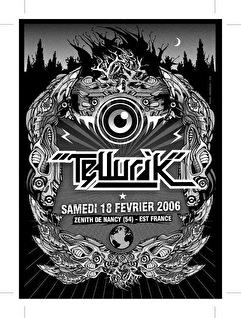 Tellurik 2006 (flyer)