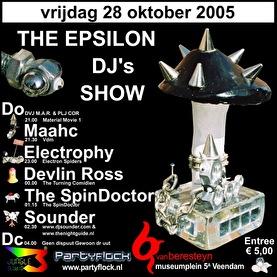 The Epsilon DJ's Show (flyer)