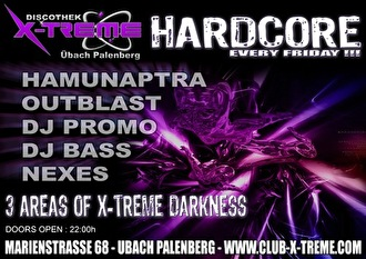X-Treme hardcore (flyer)